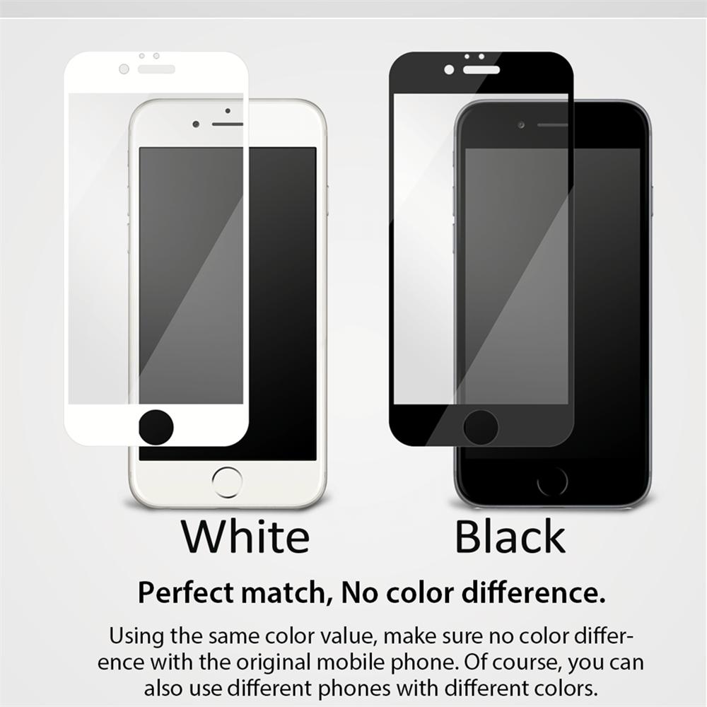 iPhone 6/6S için spada Comfort Tam kaplayan Beyaz Ekran koruma camı