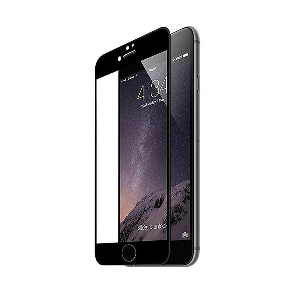 iPhone 7/8 Plus için spada Comfort Tam kaplayan Siyah Ekran koruma camı