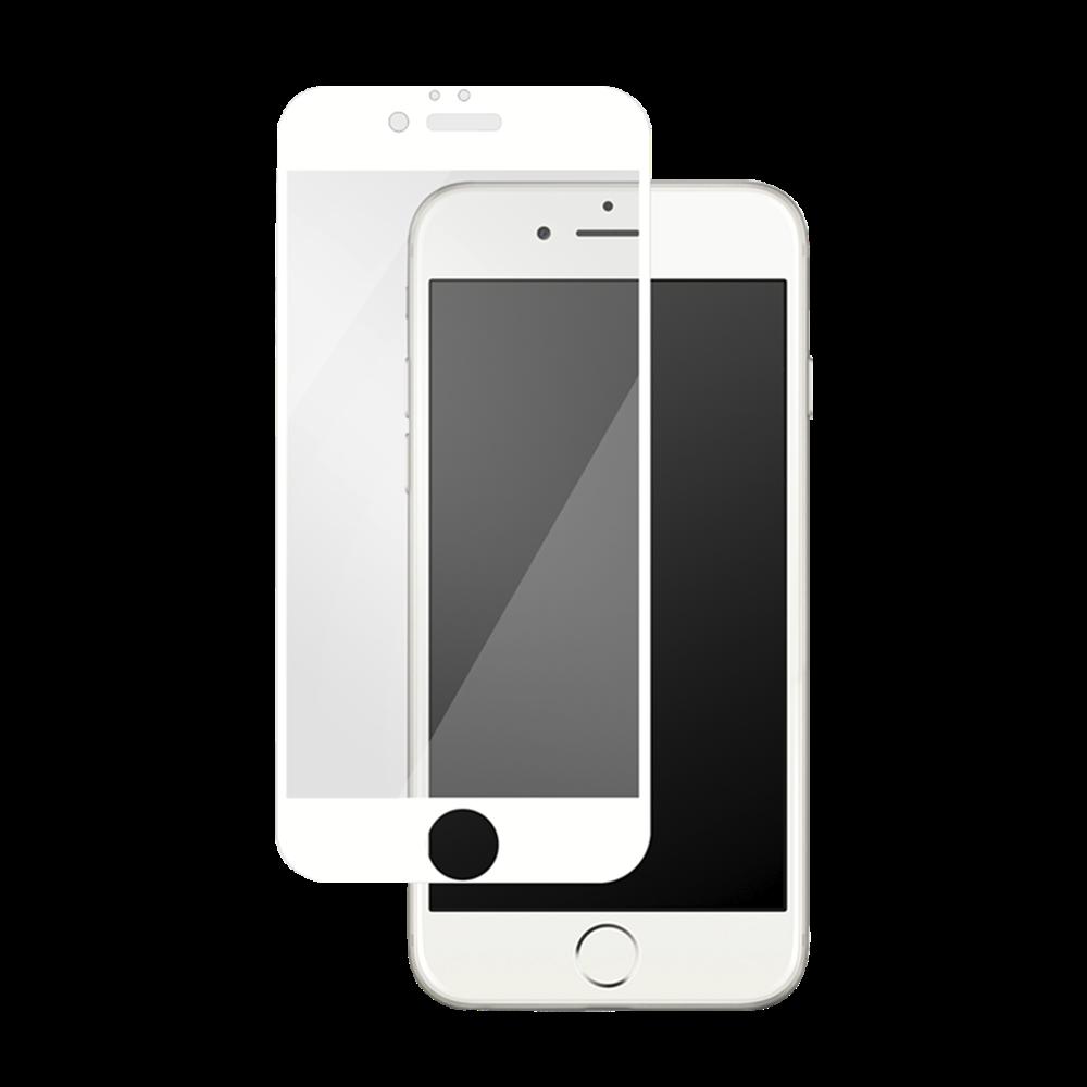 iPhone 7/8 Plus için spada Comfort Tam kaplayan Beyaz Ekran koruma camı