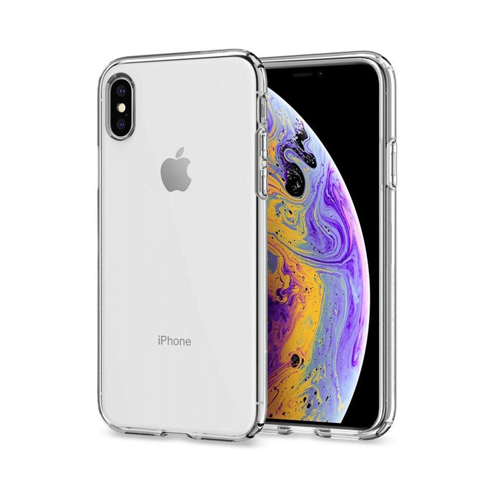 iPhone X/XS için spada Elit serisi saydam kapak