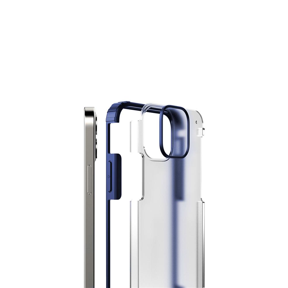 iPhone 12 Pro Max için spada Rugged Lacivert kapak