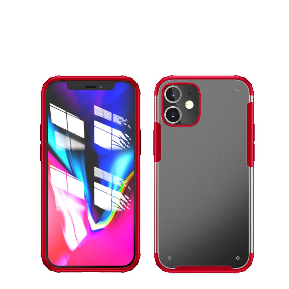 iphone 12/12 Pro için spada Rugged Kırmızı kapak