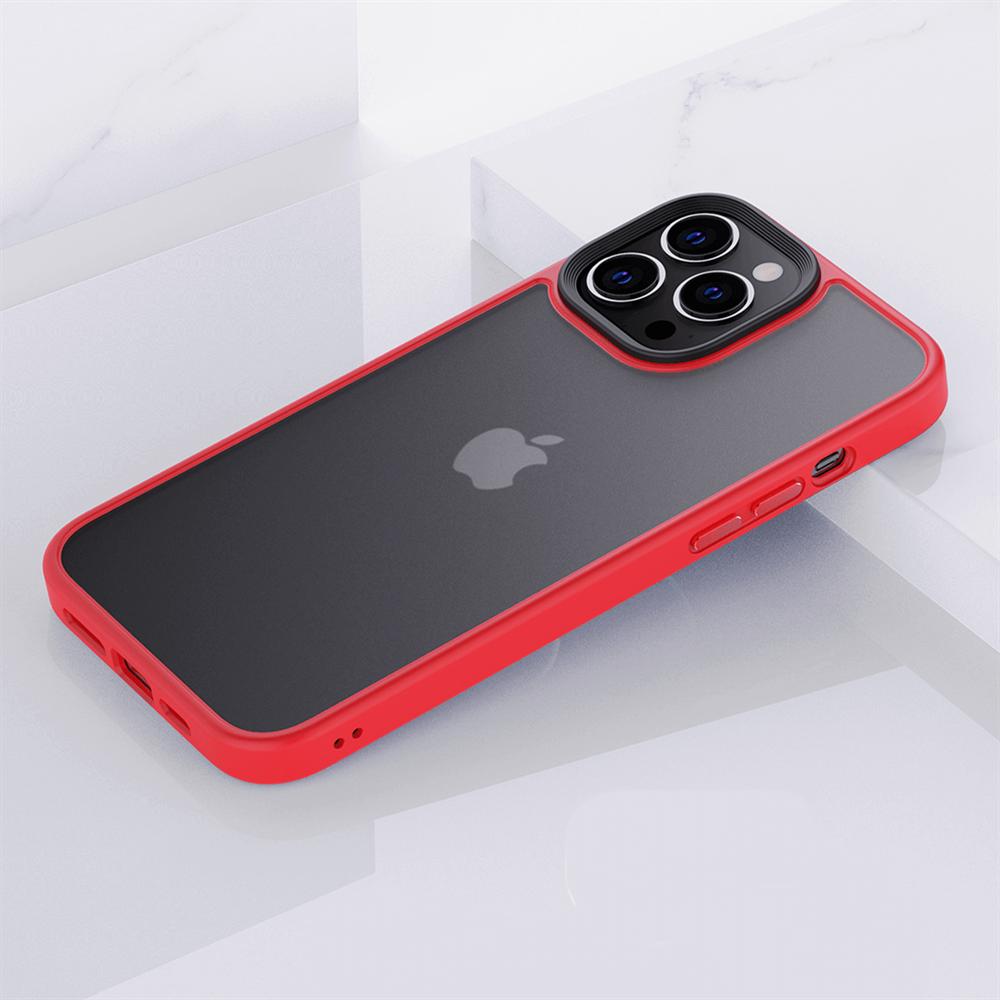 iPhone 13 Pro için spada Panzer Kırmızı kapak