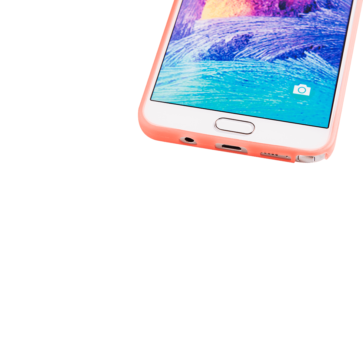 Samsung Note 5 için spada Ultra ince TPU Turuncu renk Kapak