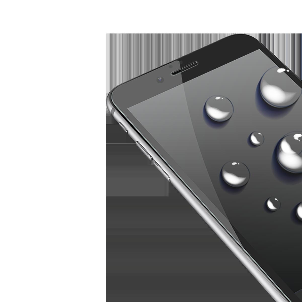 iPhone 6/6S için spada Comfort Tam kaplayan Siyah Ekran koruma camı