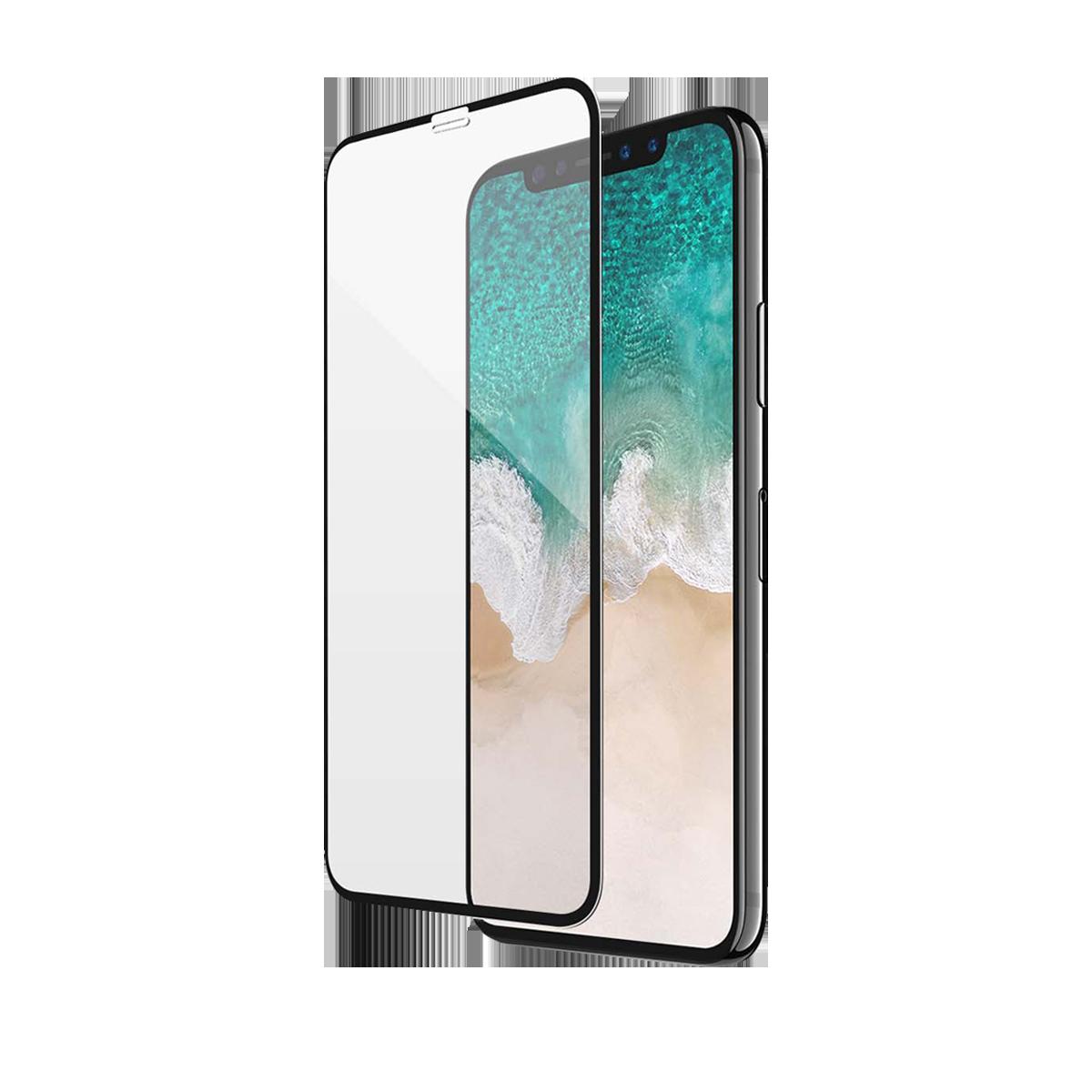 iPhone 12 Pro Max için spada Comfort Tam kaplayan temperli ekran koruma camı