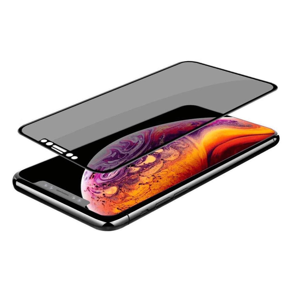 iPhone 12 Mini için spada Privacy Tam kaplayan temperli ekran koruma camı