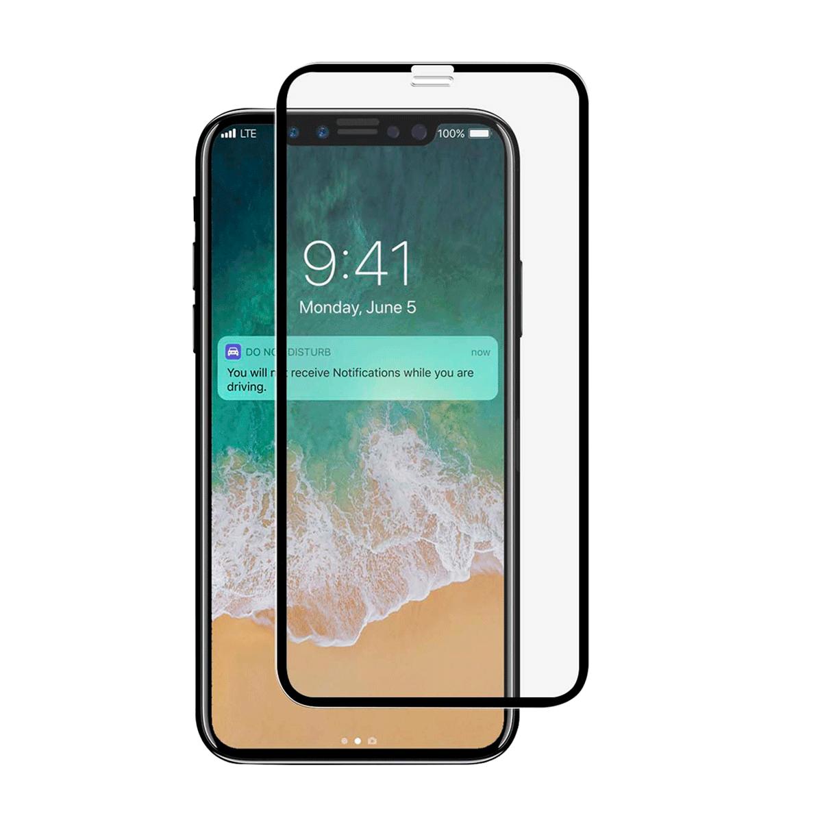 iPhone 12/12 Pro için spada Mat Tam kaplayan temperli ekran koruma camı
