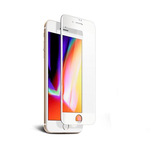 iPhone 7/8 için spada Comfort Tam kaplayan Beyaz Ekran koruma camı