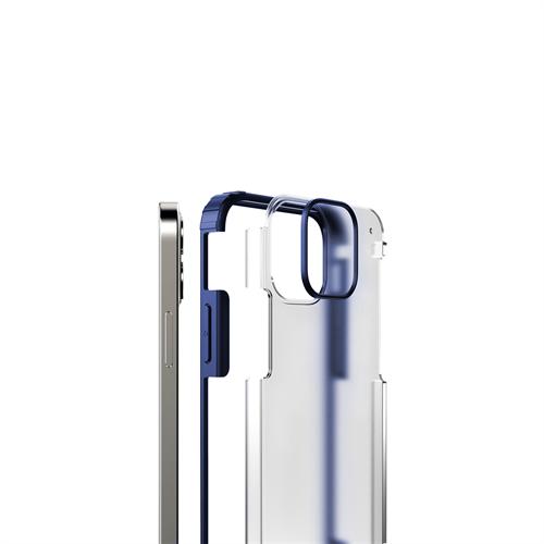 iPhone 12 Mini için spada Rugged Lacivert kapak