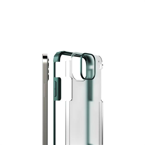 iPhone 12 Mini için spada Rugged Yeşil kapak