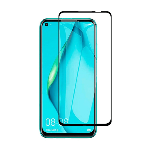 Huawei P40 Lite için icover Tam Kaplayan Ekran Koruma Camı