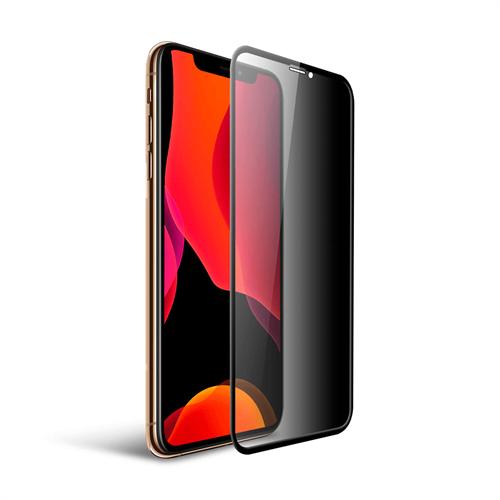 iPhone XS Max/ 11 Pro için icover Privacy Tam Kaplayan Ekran Koruma Camı