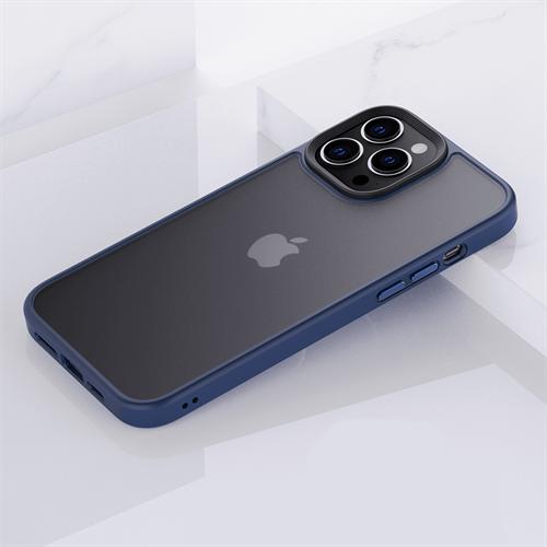 iPhone 13 Pro Max için spada Panzer Lacivert kapak