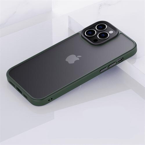 iPhone 13 Pro Max için spada Panzer Yeşil kapak