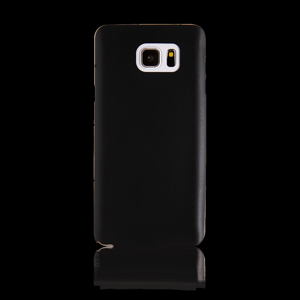 Samsung Note 5 için spada Ultra ince TPU Siyah renk Kapak