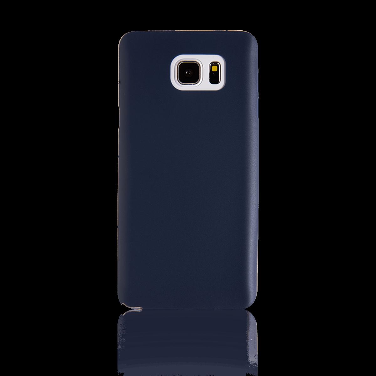 Samsung Note 5 için spada Ultra ince TPU Lacivert renk Kapak