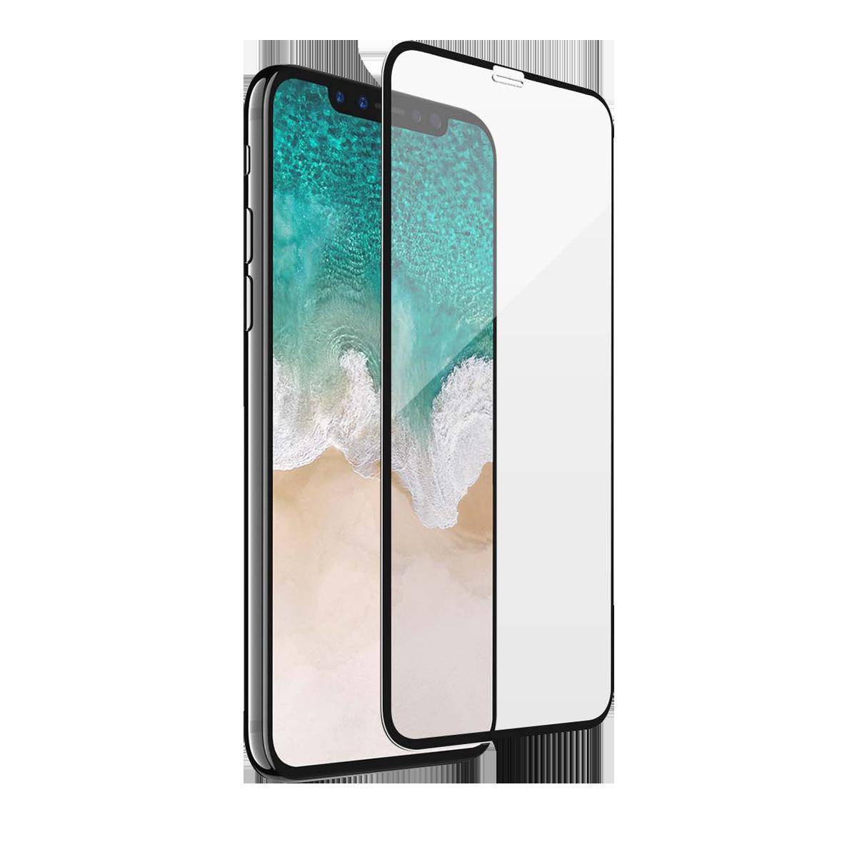 iPhone 12 Mini için spada Comfort Tam kaplayan temperli ekran koruma camı