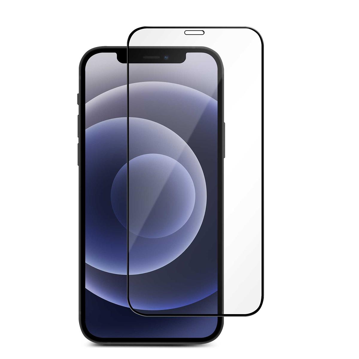 iPhone 12/12 Pro için spada Comfort Tam kaplayan temperli ekran koruma camı