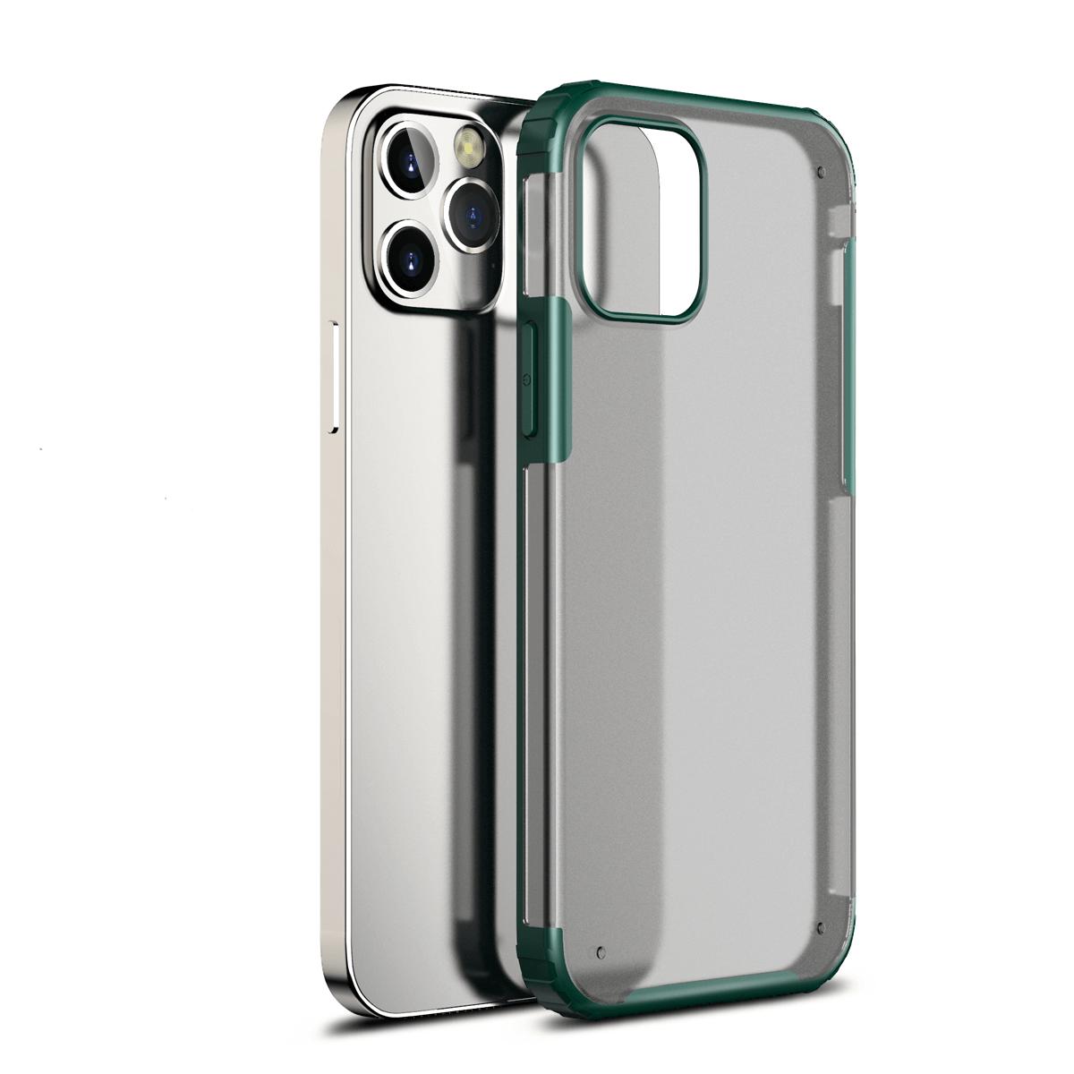 iPhone 12 Pro Max için spada Rugged Yeşil kapak